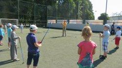 Открытие детской Академии Гольфа в Молдове