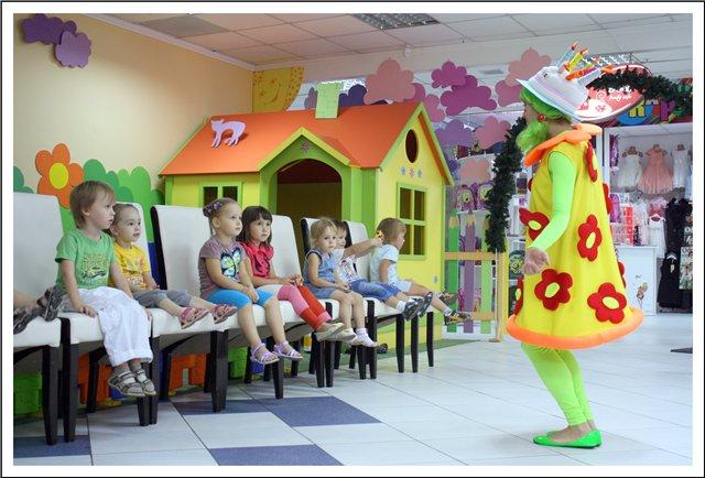 Детские кафе есть и в нашем городе.