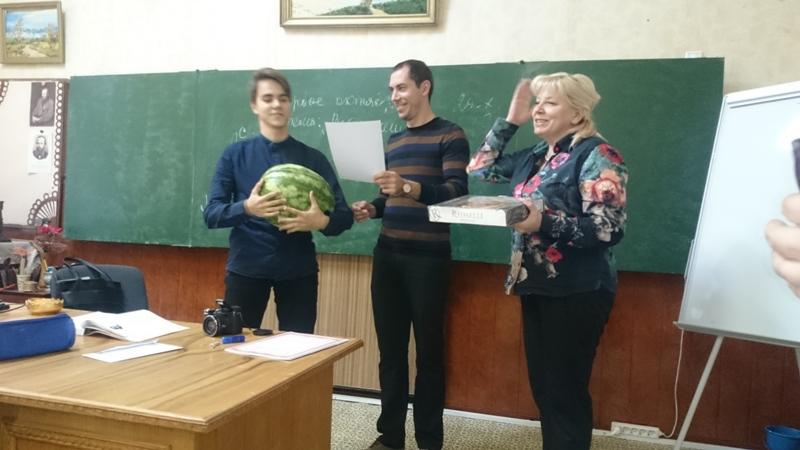 Репортаж из лицея им.Коцюбинского «О первом  Дне Доброты»