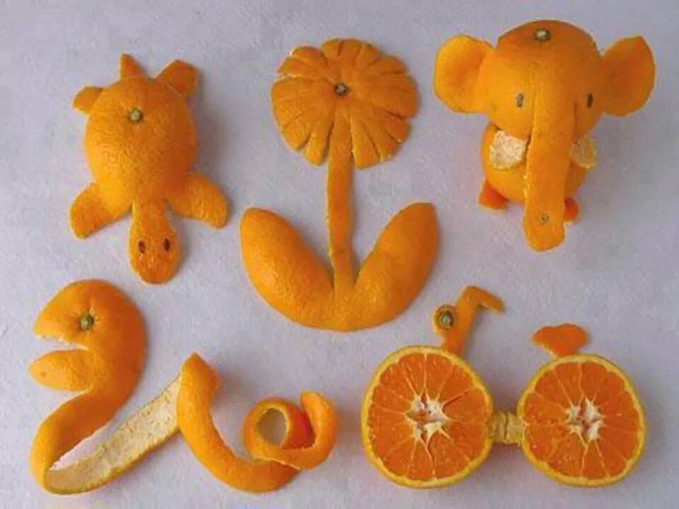 Мандариново-апельсиновое творчество