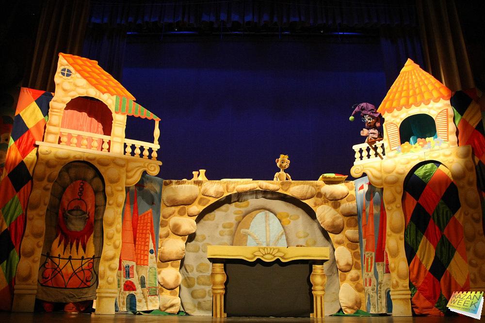 Театры города-детям в феврале 2016 года