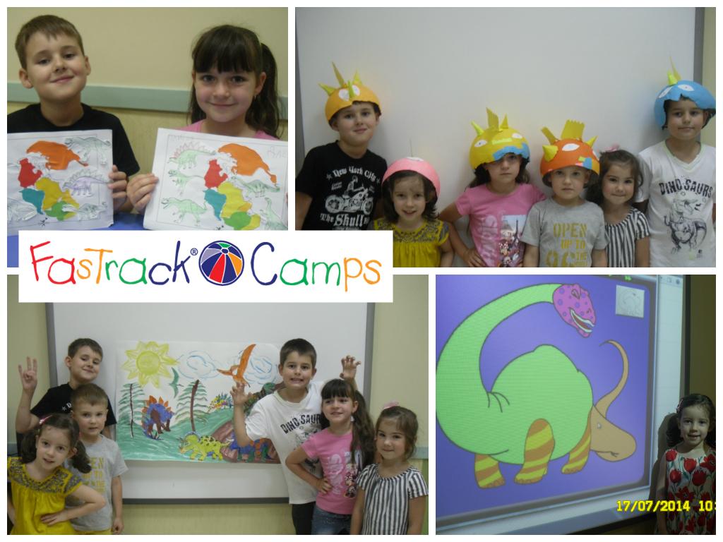 В FasTrack Camps доктор Дино и Динозавры-не пропустите!