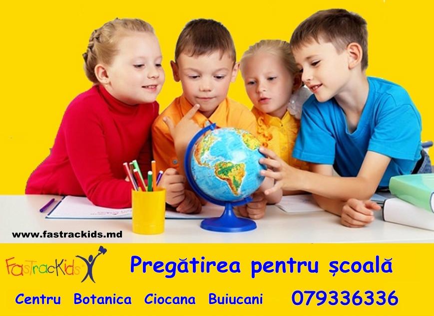 Pregatirea pentru școală  la FasTracKids.