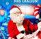 """Магическое кресло Деда Мороза в торговом центре """"Sun City""""."""