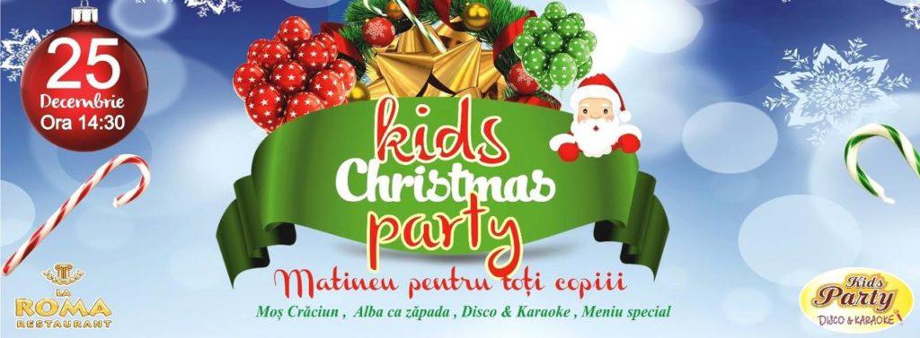 Новогодняя дискотека для детей в La Roma