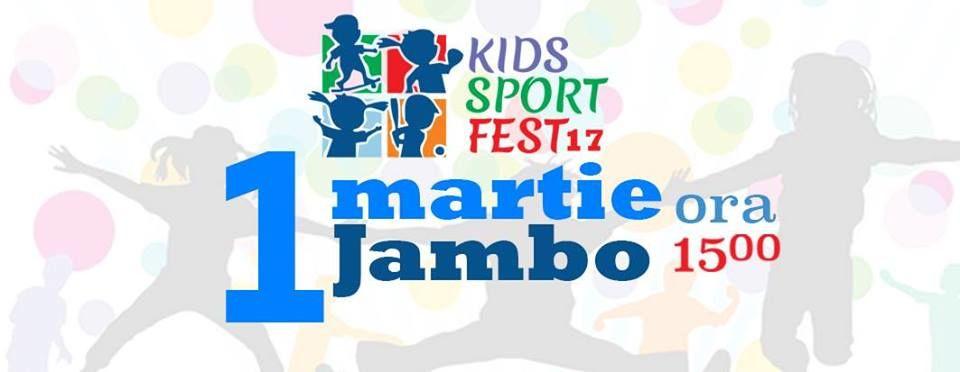 """Детский спортивный фестиваль KIDS SPORT FEST 2017 в ТЦ """"Jambo"""" (RU/RO)"""