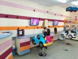 Благотворительная акция с Rapunzel- детским салоном красоты.