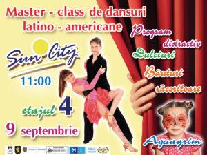 "Мастер – класс по латиноамериканским танцам в ТЦ ""Sun City"" (RU/RO)"