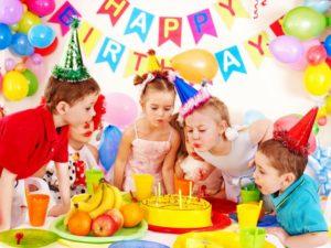 Детский день рождения-где, как и с кем?