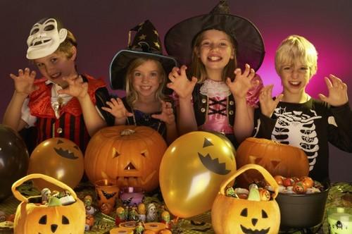 Куда детям пойти на Halloween ?