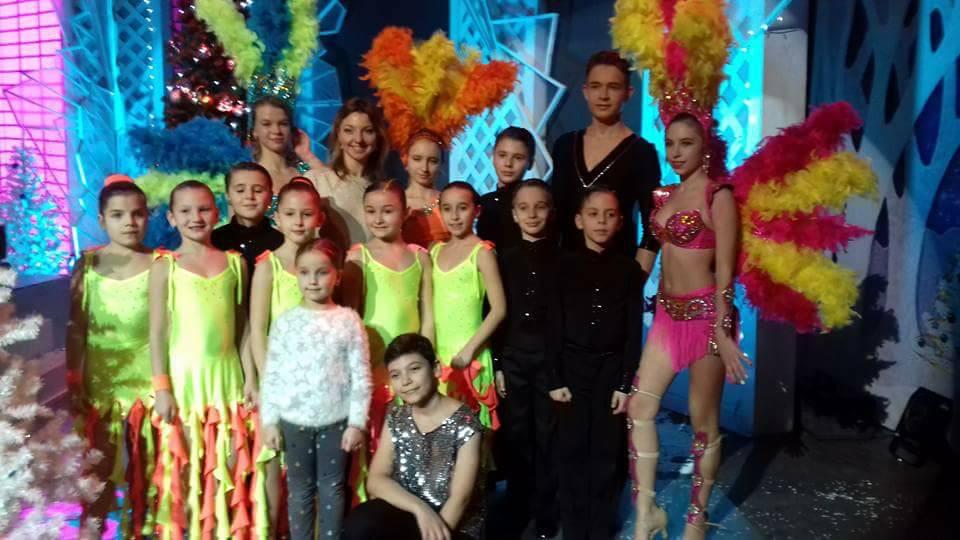 """Танцевальная студия """"Эксклюзив"""" для Алексея Бобок."""