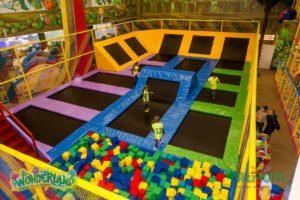 Мир развлечений и приключений Atrium Wonderland.