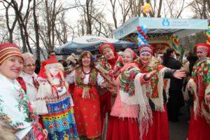 Праздник «Широкая масленица!»  в парке Штефана чел Маре.