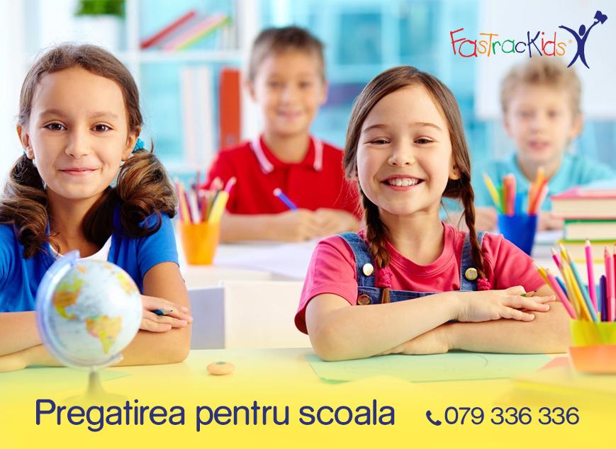 Vă invită la programa pregătire pentru școala (RO)