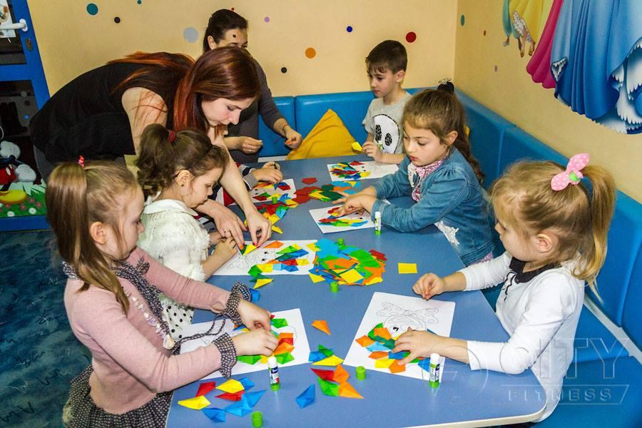 Детский фитнес-лагерь в CityFitness