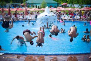 Аквапарк в Сочитенах открыл сезон.