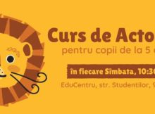 Curs de actorie pentru copii (RO)