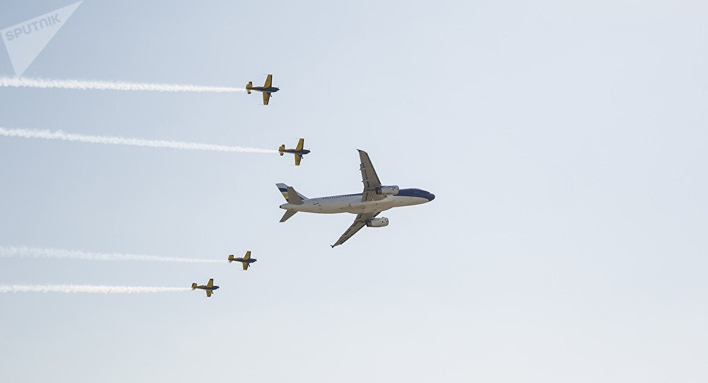 Масштабное авиашоу в аэропорту Кишинева
