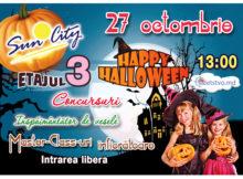 """Învităm la cea mai înspăimîntătoare sărbătoare a anului """"Halloween""""al CC """"Sun City"""" (RO)"""