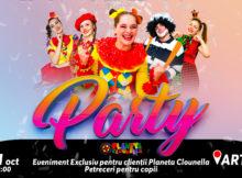 Un Eveniment exclusiv pentru clienții Planeta Clounella (RO)
