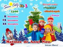 Афиша детских мероприятий на выходные 8 и 9 декабря 2018 года.