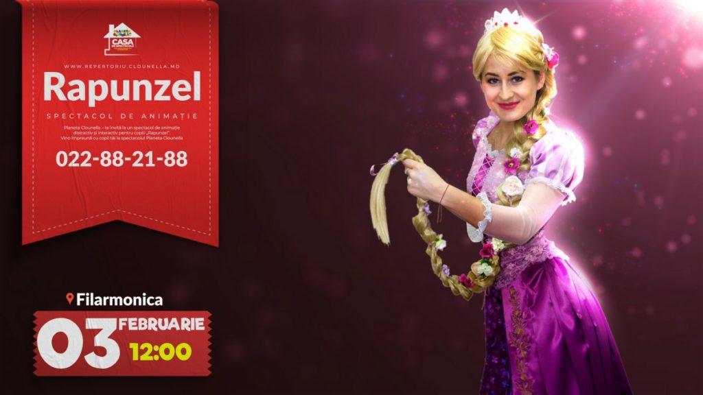 Rapunzel - Spectacol Interactiv de Animație pentru Copii (RO)