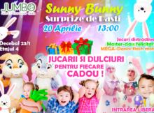"""Пасхальные сюрпризы от Sunny Bunny в ТЦ """"Jumbo""""!"""