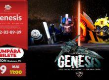 """Шоу для детей от Лиги роботов - """"Genesis""""(RO/RU)"""
