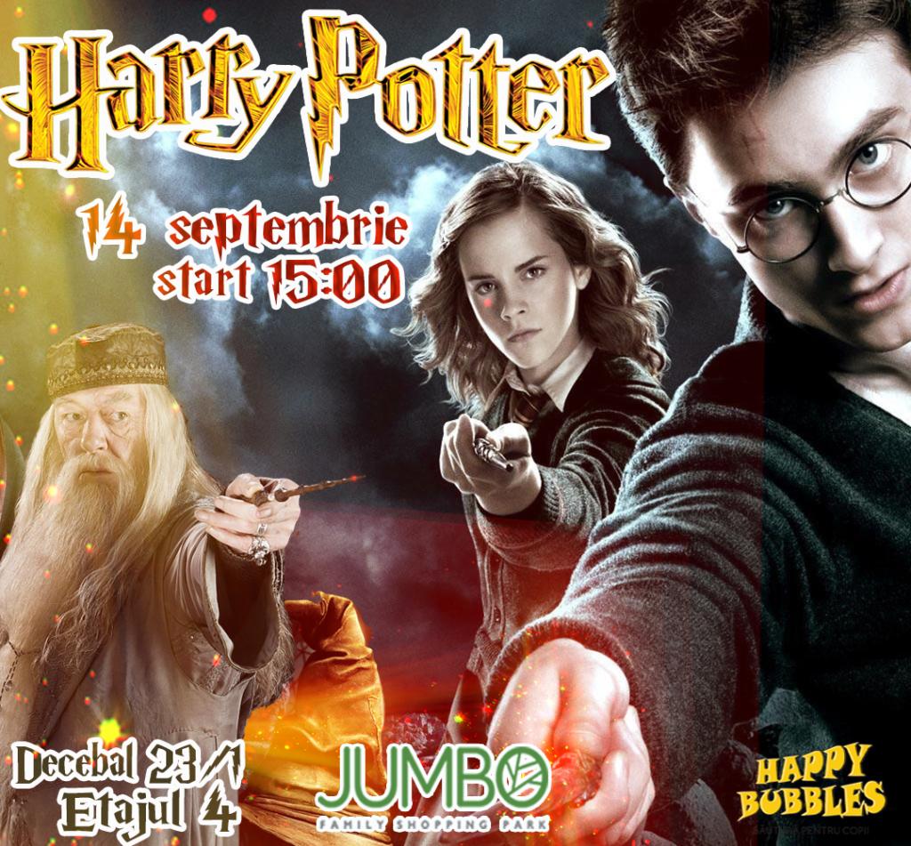 """Гарри Поттер в ТЦ """"Jumbo"""". Вход свободный!"""